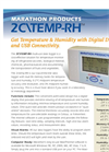 Model 2C\TEMP-RH - Digital Temperature and Humidity Recorde Multi-Use Data Logger Data Sheet