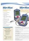 Model Min/Max Plus - Temperature Monitoring Thermometers Brochure