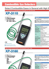 Model XP-3160 - Portable Gas Detector Brochure