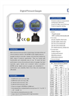 Model ADT 681 series - Digital Pressure Gauges Brochure