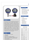Model ADT 672 series - Digital Pressure Calibrators Brochure