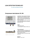 Model DL 230 - Leak Detector Brochure