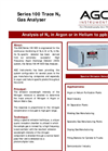 AGC - Model Series 100 - Trace N2 Gas Analysers - Brochure