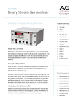 AGC - Model 20 Series - Binary Stream Gas Analyser - Brochure
