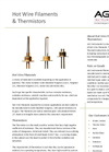 AGC - Thermistor Detector Elements - Brochure