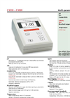 Consort - Model C1010 - C1020 - Benchtop Meters - Brochure