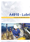 Model A4910 Lubri - Lubrication Monitoring Analyzer Brochure