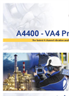 Model A4400 VA4 Pro - 4 Channel Vibration Analyzer Brochure