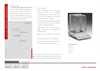 SCITEQ - Balance Weight and Density Apparatus Brochure