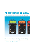 Microtector II - Model G450 - 4-Gas Detector - Brochure