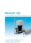 GfG MiniCal - Model III - Reliable Detection of Ammonia - DataSheet