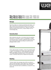 Penstock / Sluice - Model 4 - Water Control Gate Brochure