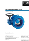 Wey - Model TZ01-4 - Butterfly Valve Brochure
