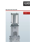 Model MG (general) - Knife Gate Valves Brochure
