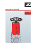 Wey - Model VS Series - Knife Gate Valves - Brochure