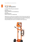 DILO - Models 3-001-R001 and 3-001-R002 - SF6 Gas Refilling Device - Datasheet