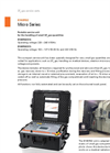 DILO - Models B160R92S16 and B160R92S15 Micro Series - Portable Service Unit - Datasheet