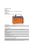 DILO - Model Mini Series - Modular - SF6 Gas Recovery Units - Datasheet