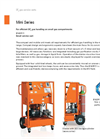 DILO - Model B143R11 - Small Service Cart - SF6 Maintenance Unit - Datasheet