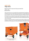DILO - Models L400R01 and L600R - Mega Series - Maintenance Devices for Large and Extra Large Gas Compartments - SF6 Reclaimer - Datasheet