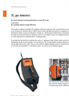 DILO - SF6-LeakSpy - Models 3-033-R200 and 3-033-R201 - SF6 Gas Detector - Datasheet