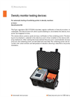 DILO - DensiControl DA - Model B178R01 - Density Monitor Testing Devices - Datasheet