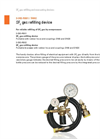 DILO - Portable SF6 Gas Refilling Device - Datasheet