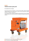DILO - Model B046R20 - Mobile Vacuum Pump Unit - Datasheet