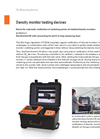 DILO - DensiControl IN - Model B178R51V1 - Density Monitor Testing Devices - Datasheet