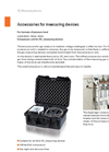 Accessories for measuring devices - Brochure