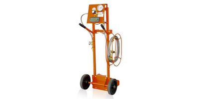 DILO - Model 3-001-R021 - SF6 gas refilling device with electronic weighing scales 0 - 120 kg