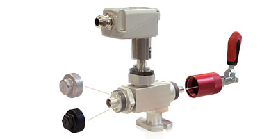 DILO - Model 3-1190-R... - Lock Valves for Density Monitors PN16 DN20