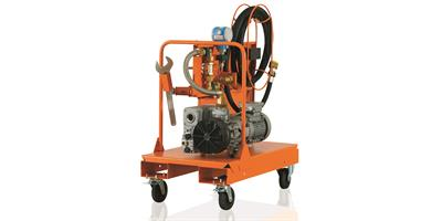 DILO - Model B046R03 & B046R13 - Mobile vacuum pump unit