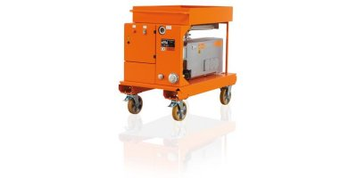 DILO - Model B046R20 - Mobile Vacuum Pump Unit