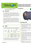 Model IBR – INR - 6009 - Reinforced Horizontal All Water Septic Tank Brochure