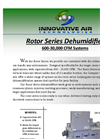 Rotor - Model 600-30,000 CFM - Larger Flagship Dehumidifiers Brochure