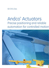 Andco - Model 7000 Series - Linear Electric Actuators Brochure