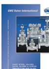 Cast Steel Gate, Globe & Check Valves Brochure