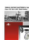 Model Series LBT - Triple Offset High Performance Butterfly Valve Brochure
