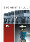 Model Series LVC - Segment Ball Control Valves Brochure