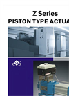 Model ZSQ - Double Acting Piston Actuator Brochure