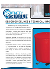 Scienco SciBRINE - Brinemaker Design Guidelines