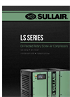 Sullair - Model LS Series - Lubricated Rotary Screw Compressors - Brochure