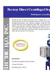 Electric H2O - Factory Direct Centrifugal Separators Brochure
