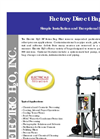 Electric H2O - Model BF Series - Factory Direct Bag Filters Brochure