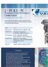 Model BV1/HPC1 - Blowdown/High Pressure Choke Valve Brochure