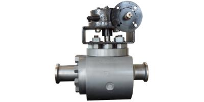 Model TE-2 - Top Entry Two Piece Body Trunnion Ball Valve