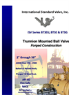 Model ISV Series - Trunnion Mounted Brochure