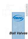 DHV - Rising Stem Ball Valve Brochure