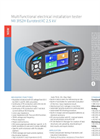 Eurotest XC 2,5 kV - Model MI 3152H - Multifunctional Measuring Instruments Brochure